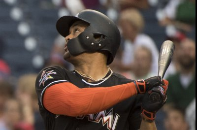 Miami Marlins: Giancarlo Stanton belts two homers in win over San Diego Padres