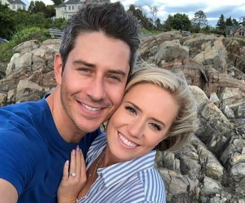 Arie Luyendyk Jr., Lauren Burnham celebrate first home together