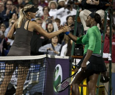 Williams-Sharapova final set at Sony Open