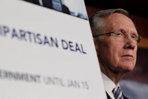 Senate Dem leader Reid sees no 'grand bargain' at budget talks