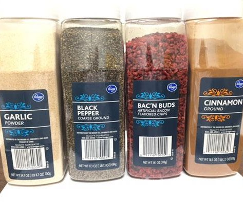 Kroger recalls spices, bacon crumbles for salmonella contamination