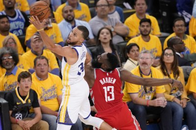 Warriors-Rockets series heads back to Houston tied at 2