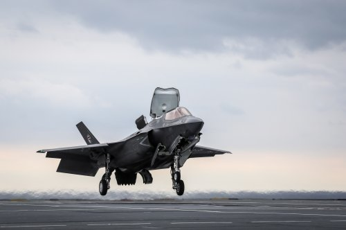 Most F-35s cleared for flight operations after grounding last week