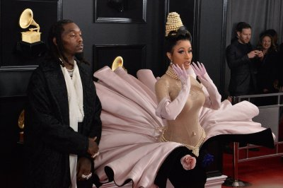 Cardi B celebrates after 'Please Me' reaches 100M views on YouTube