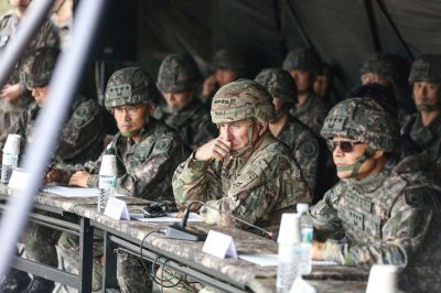 U.S. Forces commander in South Korea attends live-fire demonstration