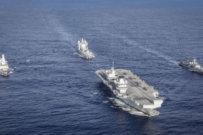 HMS Queen Elizabeth's Carrier Strike Group reaches initial operating capability