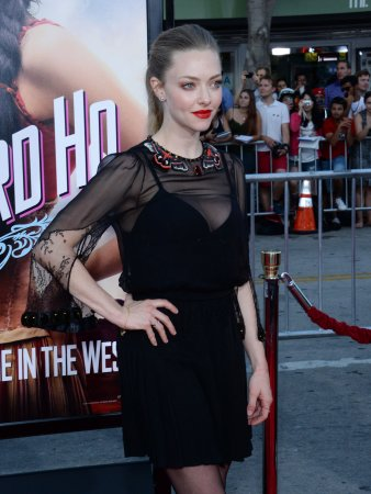 Amanda Seyfried discusses kissing Channing Tatum