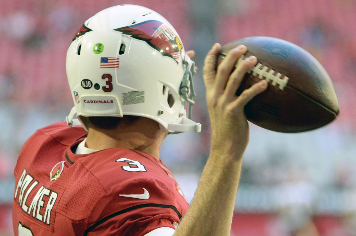 Carson Palmer ready to back to work with Arizona Cardinals