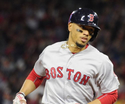Mookie Betts hits three homers, tying Ted Williams' record