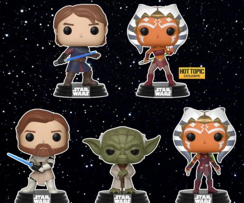 Funko announces new 'Star Wars: The Clone Wars' Pop! figures