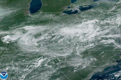 Locally severe storms to precede hotter air in northeastern US as weekend finishes up
