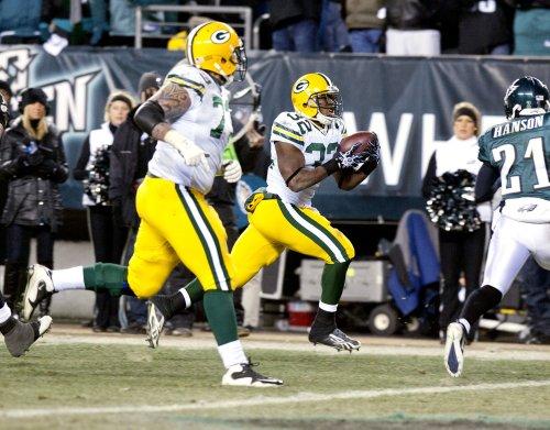 NFL: Green Bay 21, Philadelphia 16