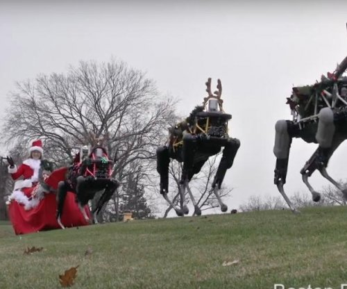 Boston Dynamics uses robot 'reindeer' to send Holiday wishes