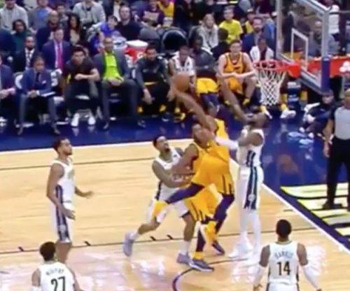 Utah Jazz rookie Donovan Mitchell had the dunk of the holiday season