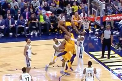 Utah Jazz rookie Donovan Mitchell had the dunk of the holiday season