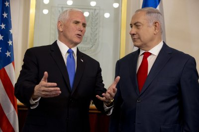 Pence says U.S. will open Israeli embassy in Jerusalem in 2019