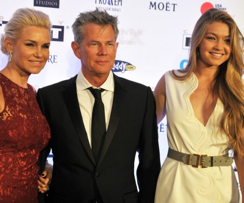 Gigi Hadid invites stepdad David Foster to her Paris fashion show