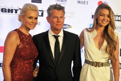Gigi Hadid invites stepdad David Foster to her Paris fashion show