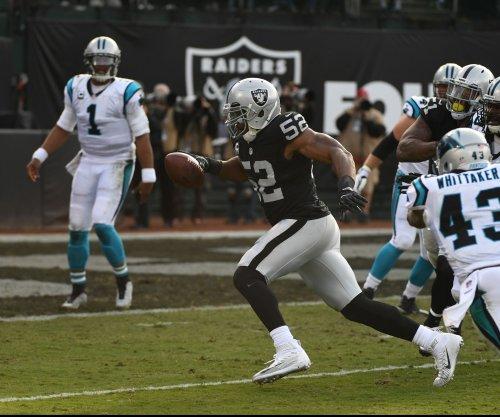 Oakland Raiders' Khalil Mack savors first career TR