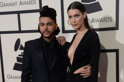 Bella Hadid, The Weeknd share the runway at H&M show