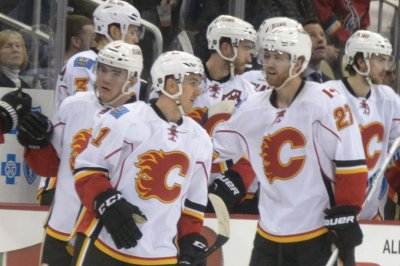 Mikael Backlund's OT tally lifts Calgary Flames over Detroit Red Wings