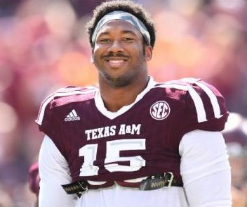 2017 NFL Draft: Cleveland Browns will select Texas A&M DE Myles Garrett at No. 1 overall