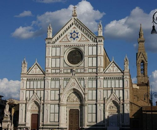 Tourist killed by falling stone at famous Italian church