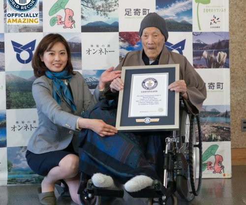 112-year-old Japanese man named world's oldest man