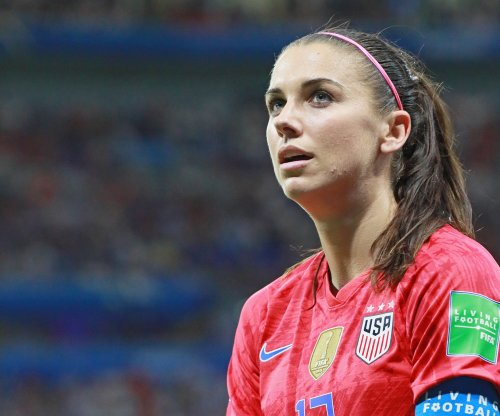 U.S. women's soccer star Alex Morgan tests positive for COVID-19