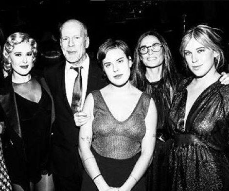 Bruce Willis, Demi Moore support Rumer Willis on Broadway