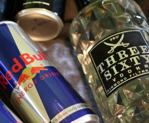Study finds energy drinks, alcohol increase injury risk