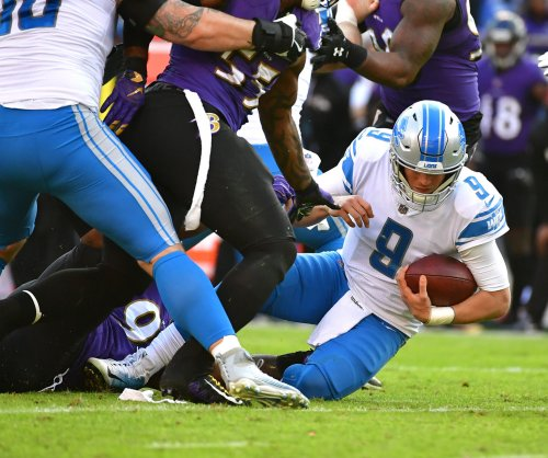 Detroit Lions QB Matthew Stafford questionable for Sunday