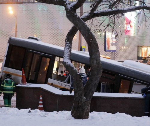 Moscow bus crash kills five