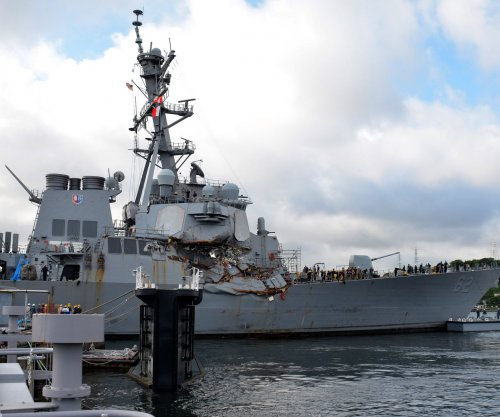 HII awarded contract for additional repairs to USS Fitzgerald