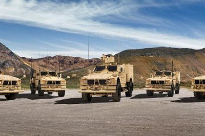 Oshkosh lands $13.9 million Army contract for M-ATV services