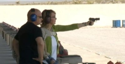 Gabrielle Giffords marks anniversary of shooting by skydiving