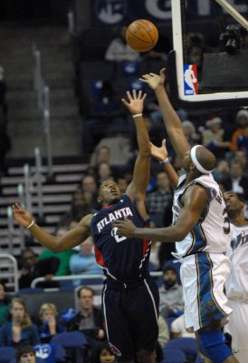Anthony, Johnson top the NBA's week