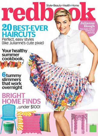 Julianne Hough talks dating before and after Ryan Seacrest in Redbook interview