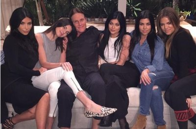 Bruce Jenner poses with daughters in new family photo
