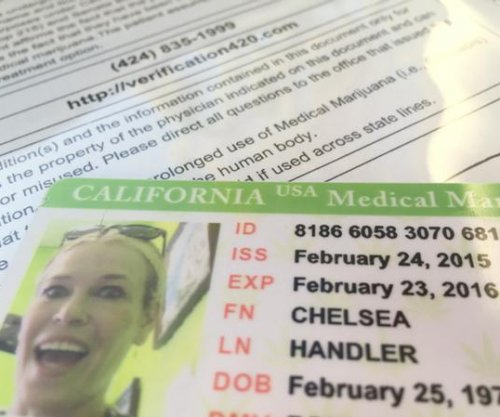 Chelsea Handler shows off medical marijuana card