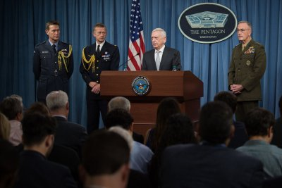 Pentagon: Letters to Mattis, Navy chief tested positive for ricin