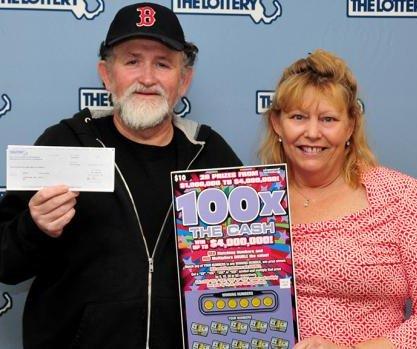 Massachusetts couple win their third $1 million scratch-off jackpot