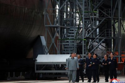 North Korea's disclosure of new submarine for domestic purposes, analyst says