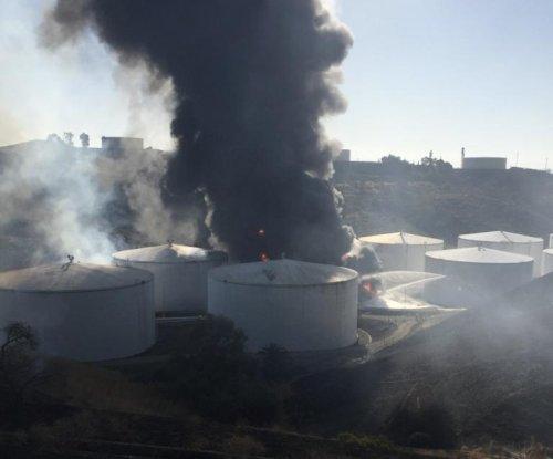 Investigators probe whether California quake sparked fuel storage fire