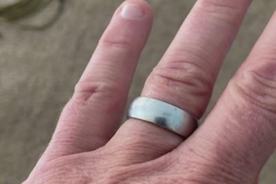 Lost wedding ring found after two years at Vermont reservoir