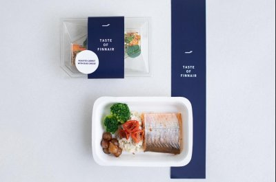 Finnish airline bringing its in-flight meals to stores