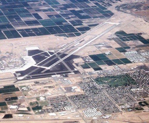 Civilian jet crashes on runway in Arizona, killing Marine on ground