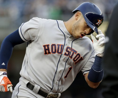 Carlos Correa's two homers, 5 RBIs lead Houston Astros' rout of Toronto Blue Jays