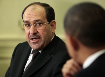 Maliki can negotiate on U.S. troops