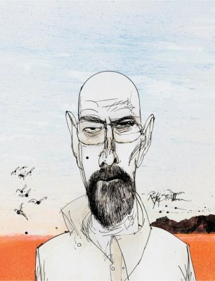 'Breaking Bad' limited edition Blu-rays to feature Ralph Steadman art